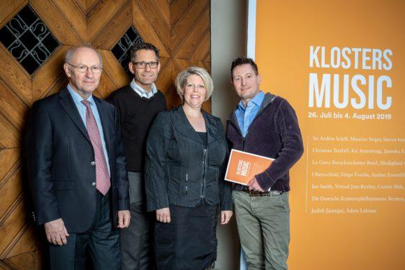 David Whelton, Christian Bolt, Franziska von Arb und Maurice Steger (von links)_Bild Yanik Bürkli