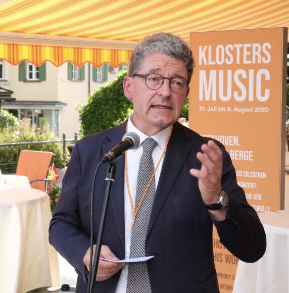 Stiftungsratspräsident Heinz Brand © Marcel Giger