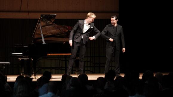 Benjamin Appl, Bariton und Simon Lepper, Klavier © Marcel Giger