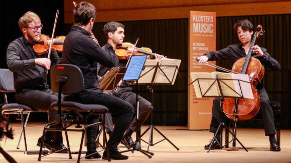 Quatuor Van Kuijk © Marcel Giger