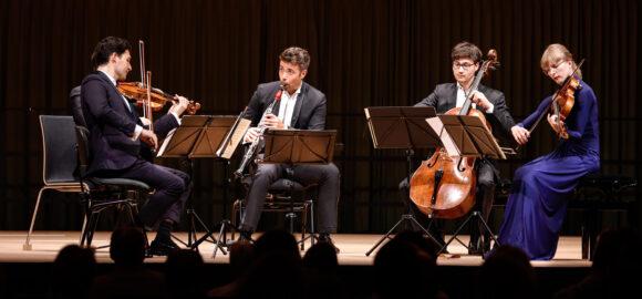 Schumann Quartett und Pablo Barragán, Klarinette © Marcel Giger