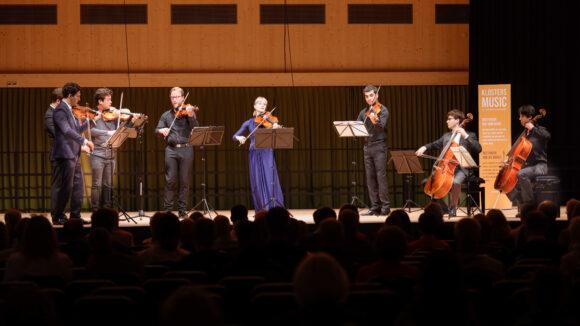 Schumann Quartett und Quatuor Van Kuijk © Marcel Giger