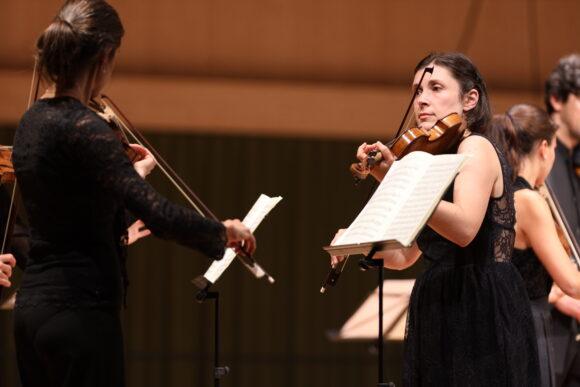 Das Orchester «Il pomo d'oro» © Marcel Giger