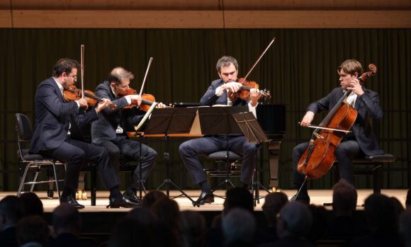Quatuor Modigliani © Marcel Giger
