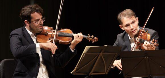 Amaury Coeytaux und Loïc Rio, Quatuor Modigliani © Marcel Giger