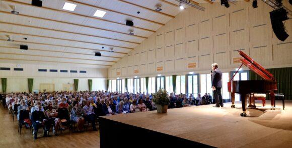Ansprache des Stiftungsratspräsidenten Heinz Brand © Marcel Giger