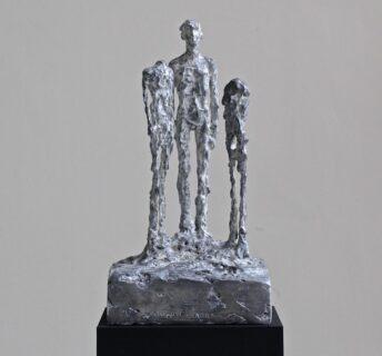 Skulptur Construction humaine (Atelier Bolt)